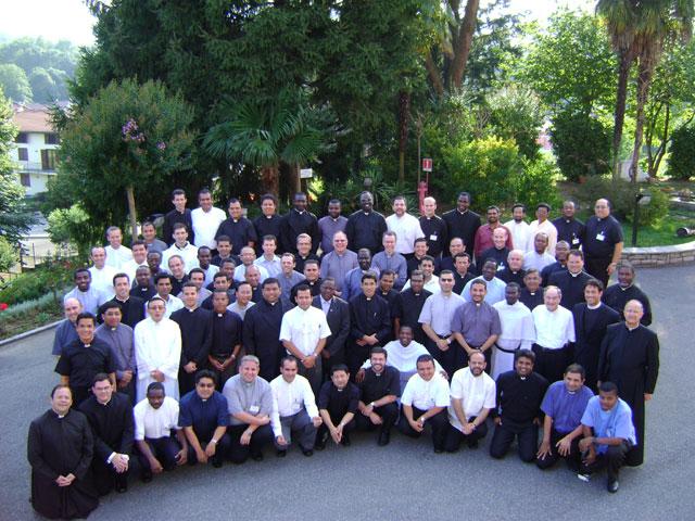 Participantes en el curso internacional para formadores de semiarios