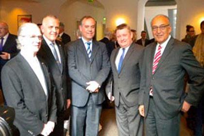 El consagrado Alberto García recibe el Premio Otto Meyerhof 2014 en Alemania