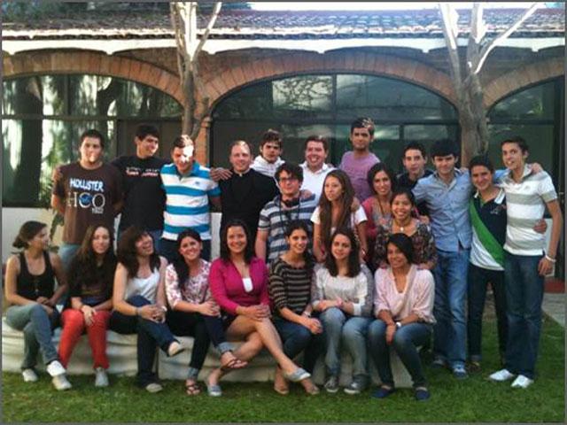 Jóvenes del grupo Alpha en Guadalajara