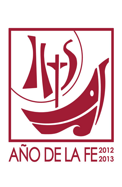 Logotipo del &quot;A&ntilde;o de la Fe&quot;.