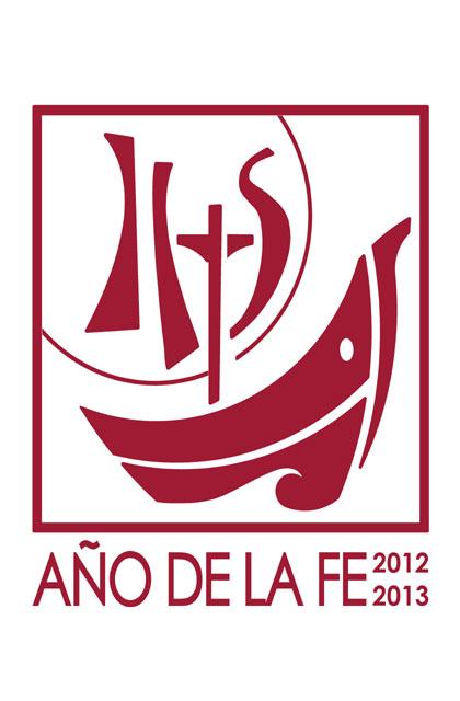 """Logotipo del """"Año de la Fe""""."""