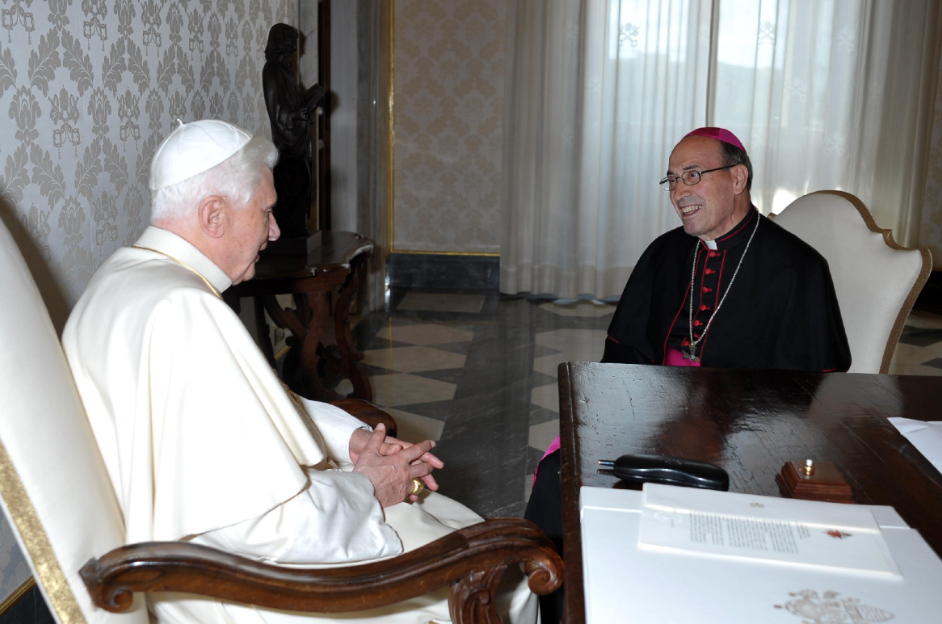 Archbishop de Paolis has broad experience and proven competence in his own religious congregation, in university teaching, and in service to the Holy See. (Photo: L'Osservatore Romano)