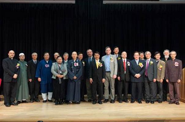 Participantes en el simposio sobre la familia.