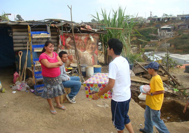 Caridad en Xalapa. Ver.