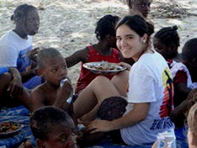 Misioneras chilenas en Haití.