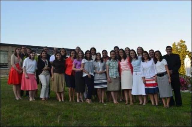 Foto de grupo de los participantes en el curso.