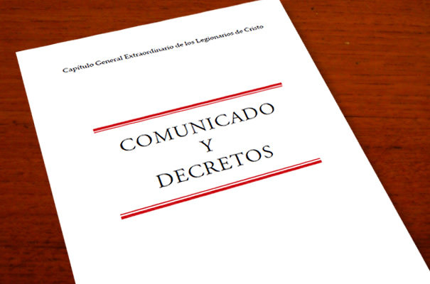 decretos capítulo general
