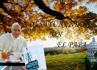 Desayunando con el Papa en la radio