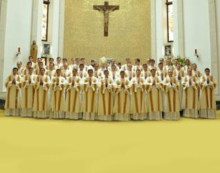 Ordenaciones diaconales en Roma, 2011