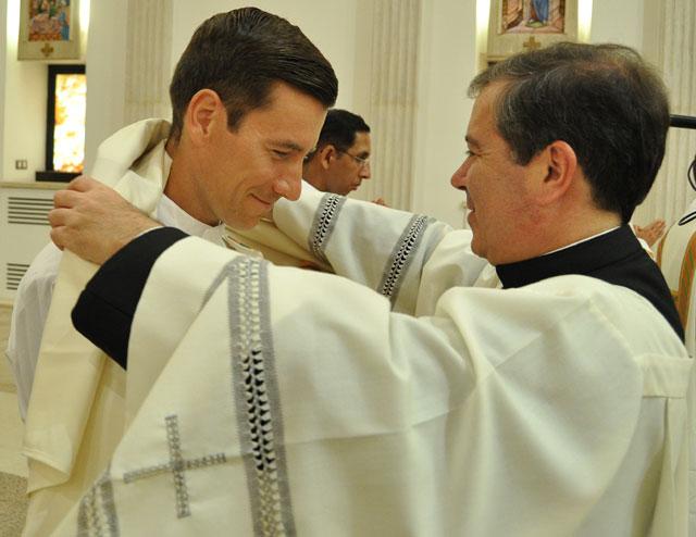 Ordenaciones diaconales en Roma, 2011.