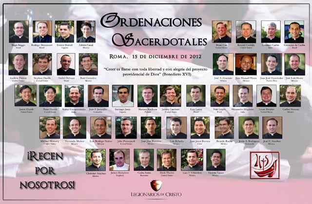 44 diáconos se ordenarán sacerdotes en Roma.