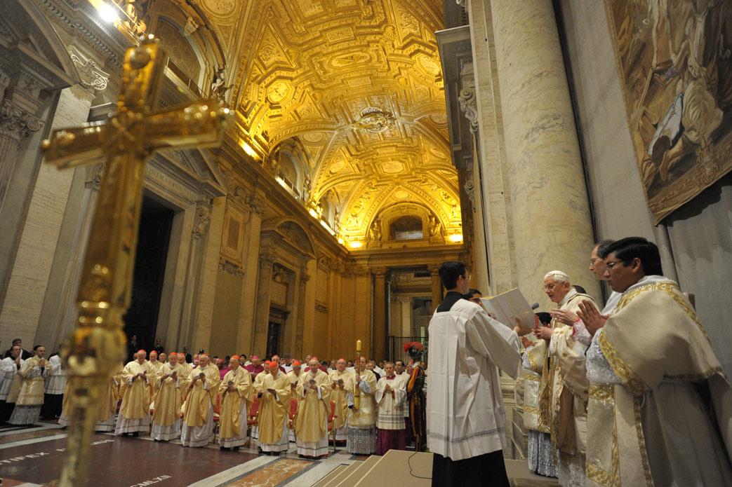 S. Messa con il Papa, 2011 Riccardo Garzari, LC