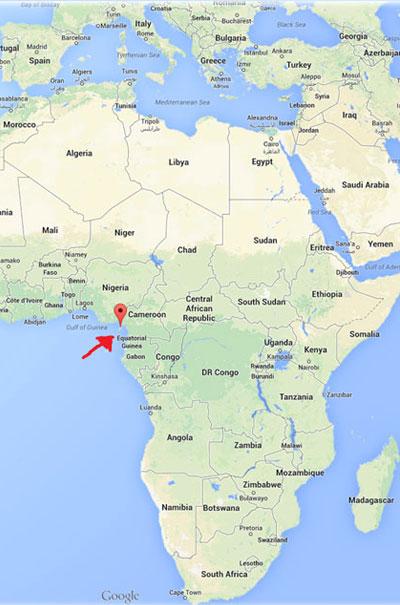 Malabo es una pequeña Isla en África y es la capital de Guinea Ecuatorial.