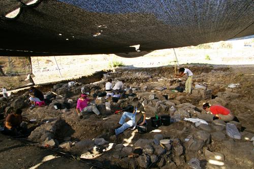 Fouilles archéologiques Magdala 2