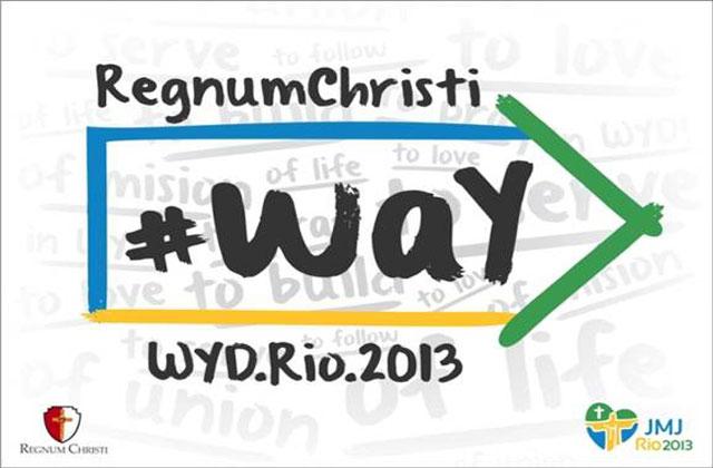 Rumbo a la Jornada Mundial de la Juventud 2013.