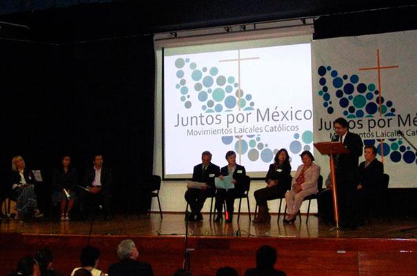 �Juntos por México� busca unir esfuerzos para influir en la sociedad con valores cristianos.