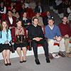 El P. Alejandro García, L.C, junto con consagrados y consagradas del Regnum Christi participaron del evento.