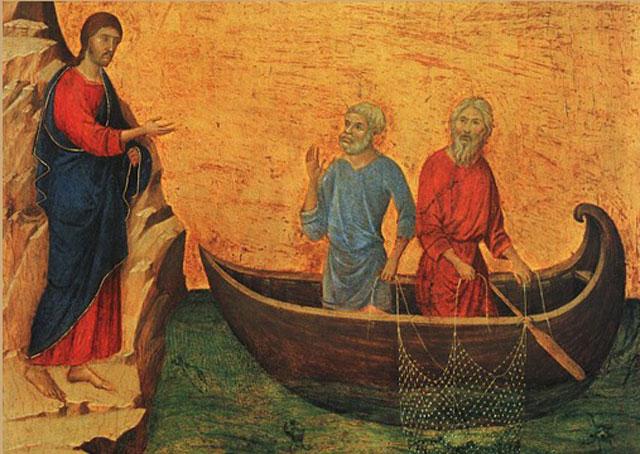 Jesús pide lanzar las redes.