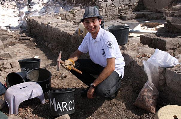 Marco Antonio, quando participou do projeto em 2011.