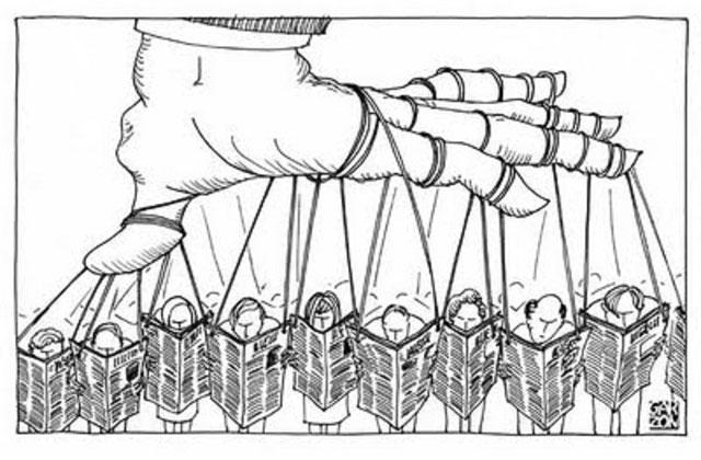 Manipulación de los medios