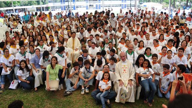 Misa de clausura de las misiones 2012 en El Salvador.