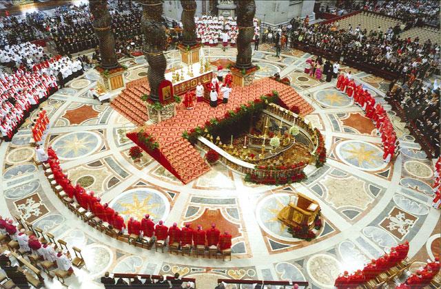 Misa con el Papa el 29 de junio.
