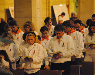 S. Messa vespertina delle Palme, basilica di Guadalupe, Roma16 aprile 2011