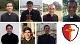 (primeira fila, da esquerda para a direita) Ir. Sérgio, Diac. Mairon, Pe. Gessione, Ir. Daniel (segunda fila, da esquerda para a direita) Ir. Andrés, Ir. José, Diac. Renan