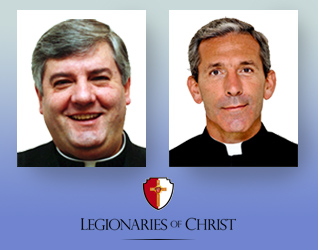Fr. Juan José Arrieta Ibarrechebea, L.C. (left), Fr. Jesús Villagrasa, L.C. (right)