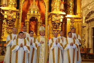 Ordenación diaconal Salamanca 2010