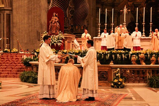 Ordenación episcopal P. Vérgez