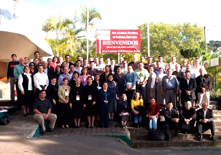 Participantes en la asamblea nacional de Pastoral Educativa.