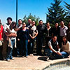 Algunos participantes en el curso prematrimonial.