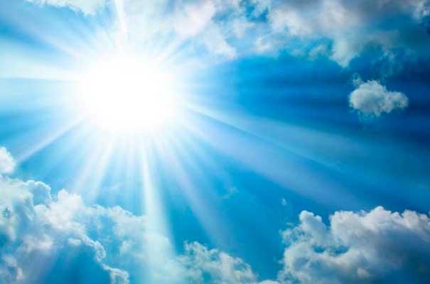 cielo resplandecedor
