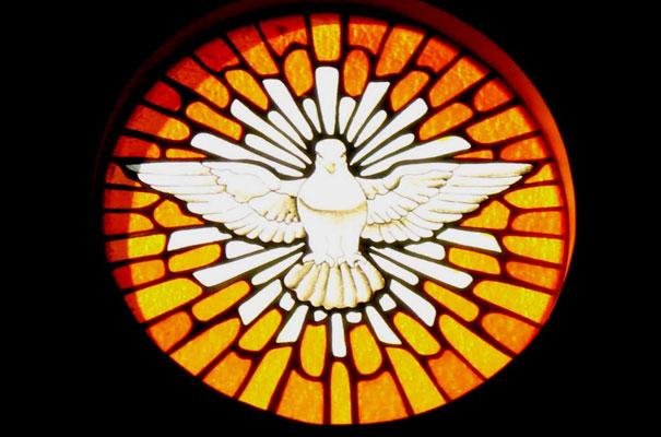 vitral espiritu santo