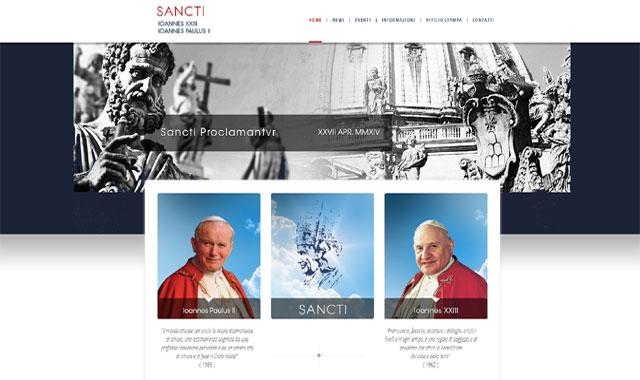 Página web para la canonización.