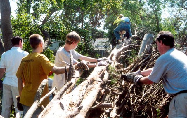 Misiones después de Katrina