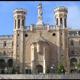 Frontispicio del Pontificio Instituto <i>Notre Dame</i> de Jerusal&eacute;n.
