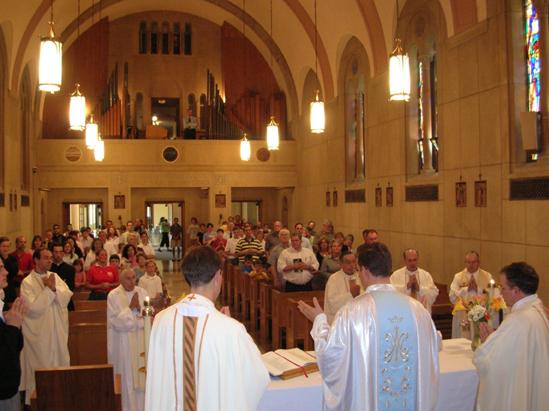 Misa de apertura de la apostólica de Indiana