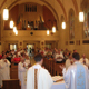 Fr. Scott Reilly presides the eucaristic concelebration on July 16.