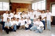 Jóvenes participantes en la Misión de Maringá
