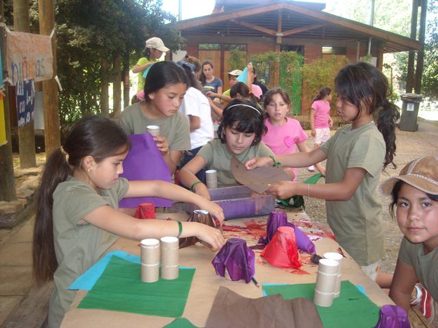 Campamento Mano Amiga Chile