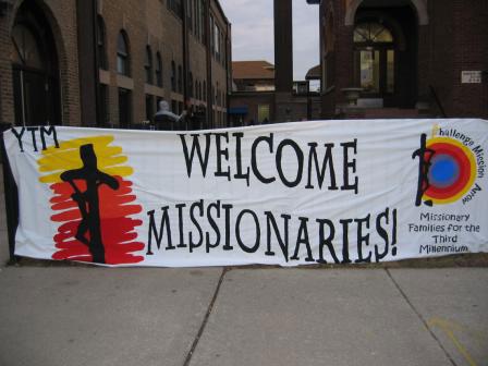Bienvenida a misioneros en Chicago