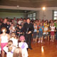 Fr. &Aacute;lvaro Corcuera, LC, greeting children during the encounter.