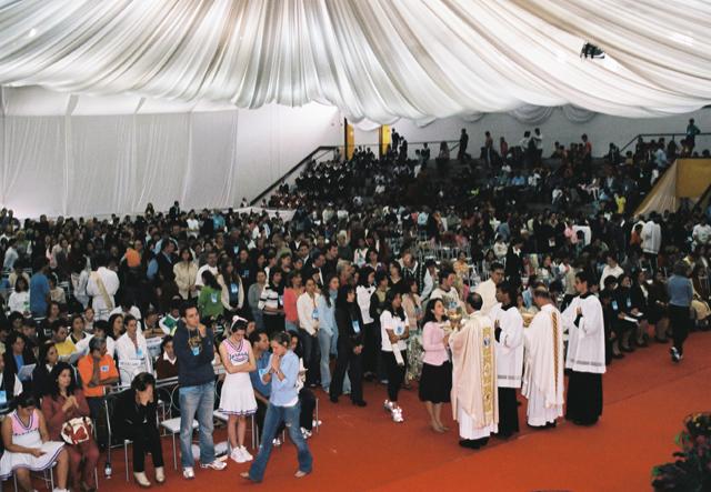 III Encuentro de Juventud y Familia en Brasil.