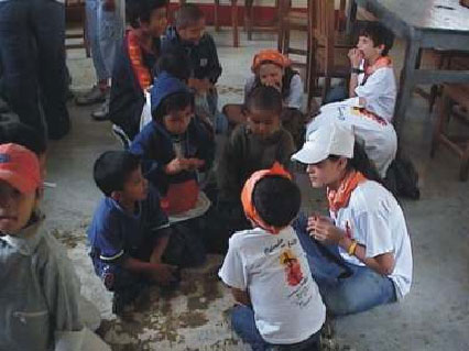 Familia misionera en Colmbia