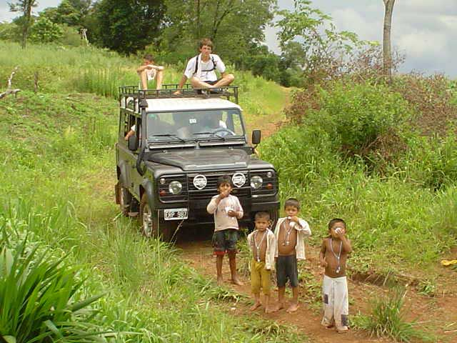 Misiones con los guaraníes
