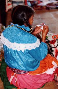 Señora indígena