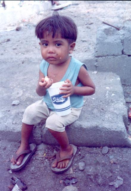 Niño pobre