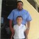 Don José con su hijo Reydle.